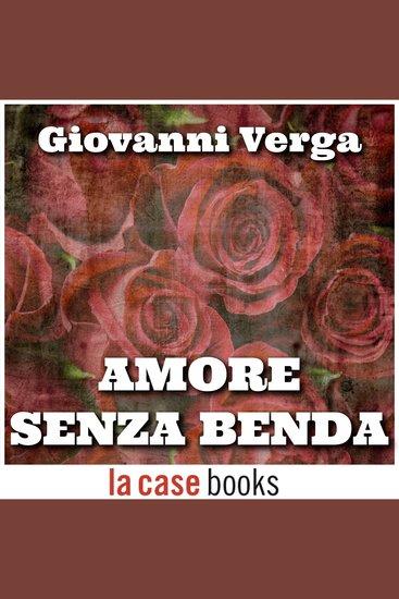 Amore senza benda - cover