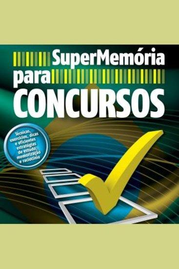 SuperMemória para Concursos - cover