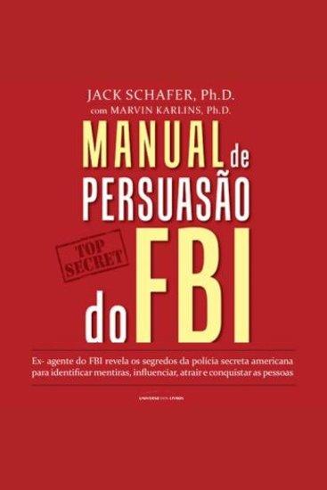 Manual de Persuasão do FBI - cover