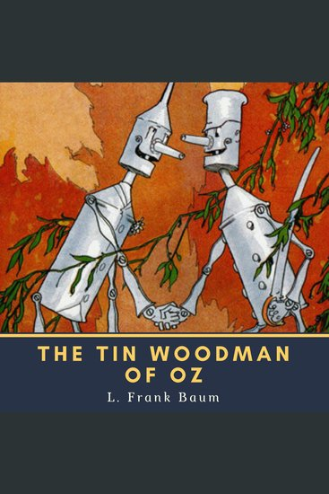 The Tin Woodman of Oz - cover