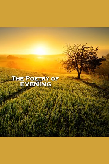 The Poetry of Evenings - cover
