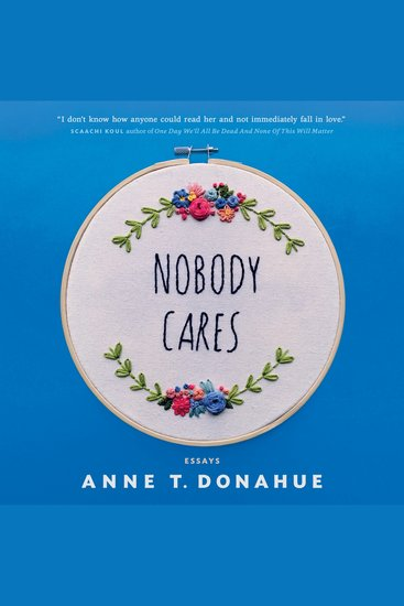 Nobody Cares - Essays - cover