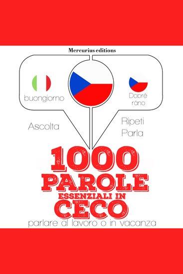 1000 parole essenziali in Ceco - cover