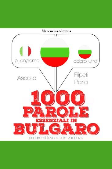 1000 parole essenziali in Bulgaro - cover