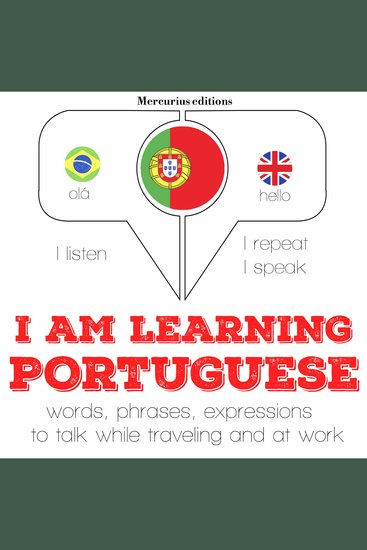 I am learning Portuguese - cover