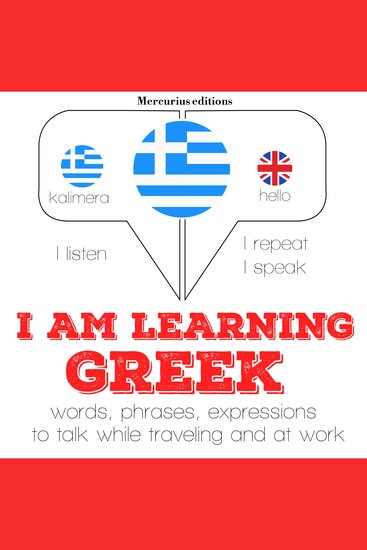 I am learning Greek - cover