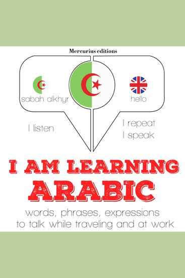 I am learning Arabic - cover