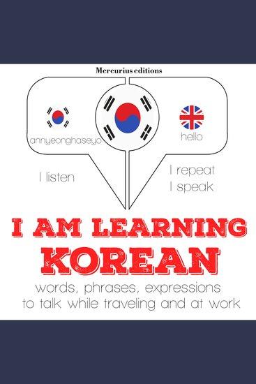 I am learning Korean - cover
