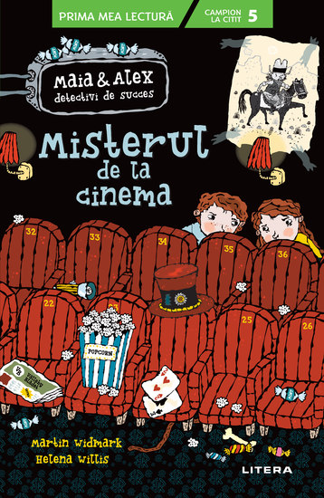 Misterul de la cinema - Maia si Alex detectivi de succes - cover