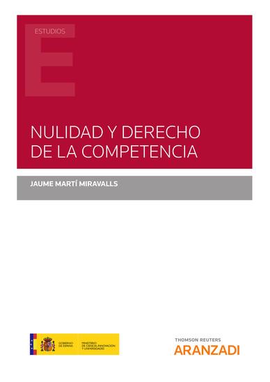 Nulidad y Derecho de la Competencia - cover