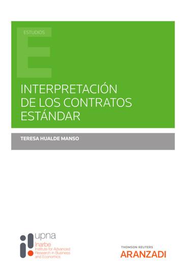 Interpretación de los contratos estándar - cover