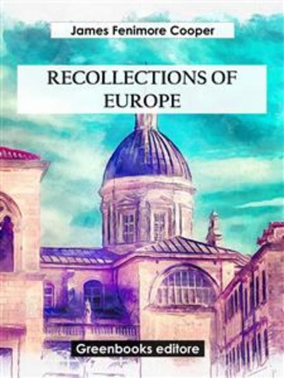 Recollections of Europe - cover