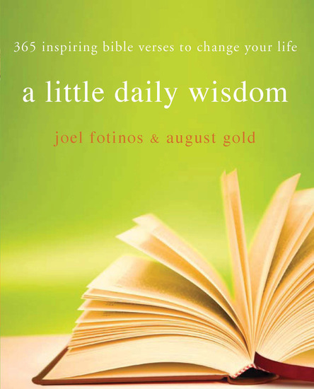 Little Daily Wisdom - 365 Inspiring Bible Verses to Change Your Life - cover