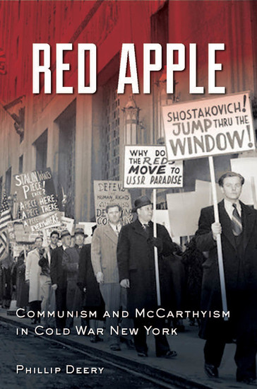 Red Apple - Communism and McCarthyism in Cold War New York - cover