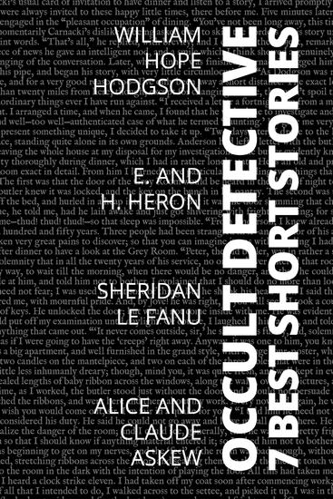7 best short stories - Occult Detective - cover