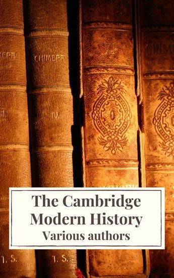 The Cambridge Modern History - cover