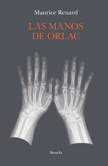 Las manos de Orlac - cover