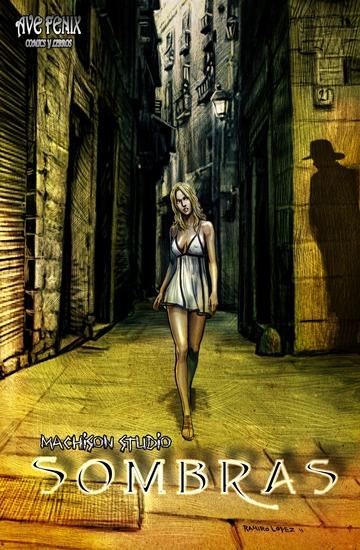 Sombras - Novela grafica erotica - cover