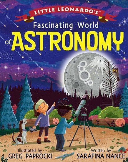 Little Leonardo's Fascinating World of Astronomy - cover