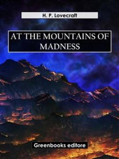 At the mountains of madness - cover