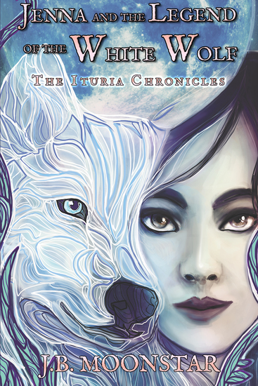 Jenna and the Legend of the White Wolf - cover