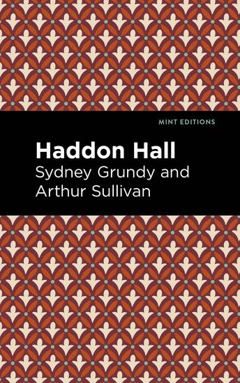 Haddon Hall - cover