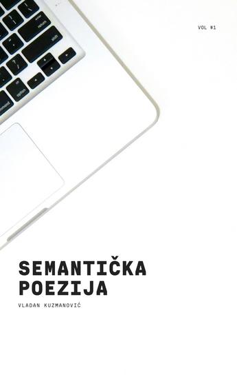 Semantička poezija - cover