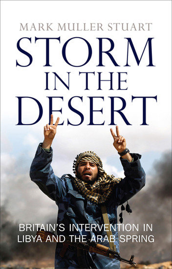 Storm in the Desert - Britain's Intervention in Libya and the Arab Spring - cover