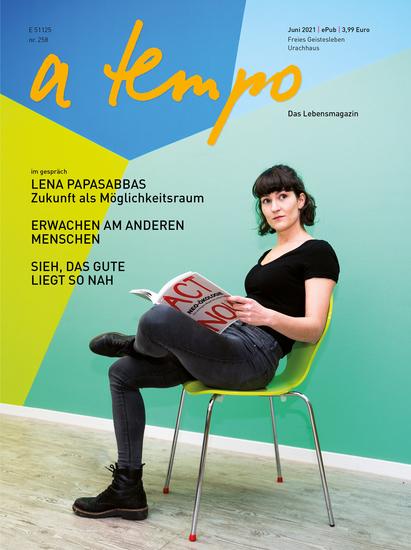 a tempo - Das Lebensmagazin - Juni 2021 - cover