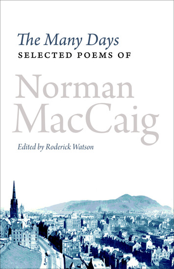 The Many Days - Selected Poems of Norman McCaig - cover