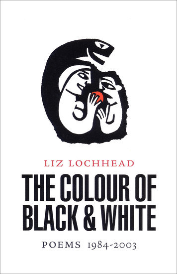 The Colour of Black & White - Poems 1984–2003 - cover
