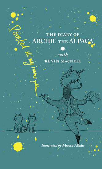 The Diary of Archie the Alpaca - cover
