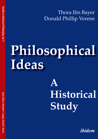 Philosophical Ideas - A Historical Study - cover