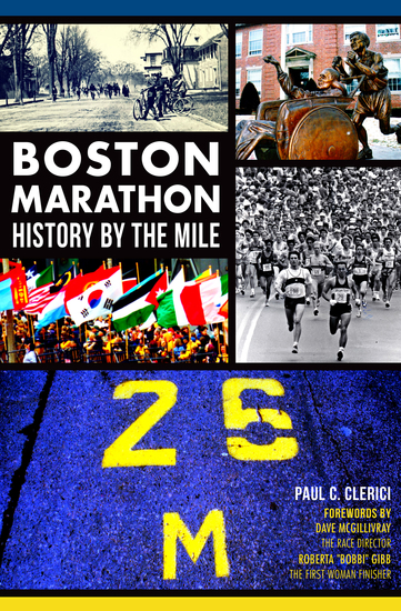 Boston Marathon - History by the Mile - cover