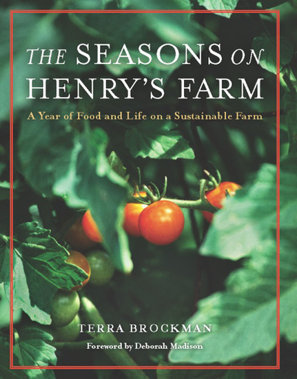 The Seasons on Henry's Farm - A Year of Food and Life on a Sustainable Farm - cover