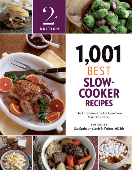 1001 Best Slow-Cooker Recipes - The Only Slow-Cooker Cookbook You'll Ever Need - cover