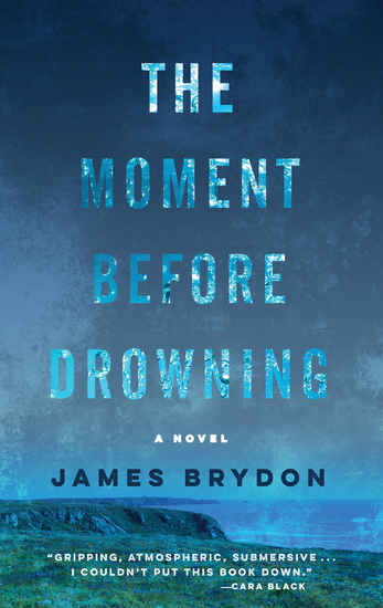 The Moment Before Drowning - A Novel - cover