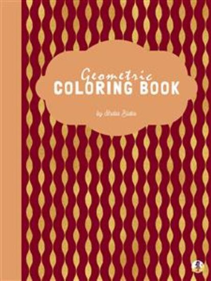 Geometric Patterns Coloring Book for Adults (Printable Version) - cover