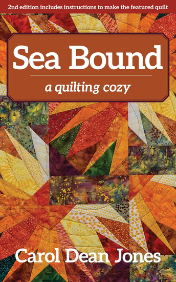 Sea Bound - A Quilting Cozy - cover