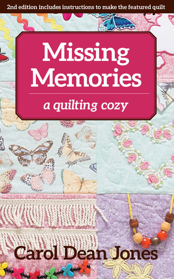 Missing Memories - A Quilting Cozy - cover
