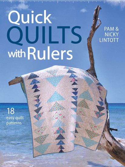 Quick Quilts with Rulers - 18 Easy Quilts Patterns - cover