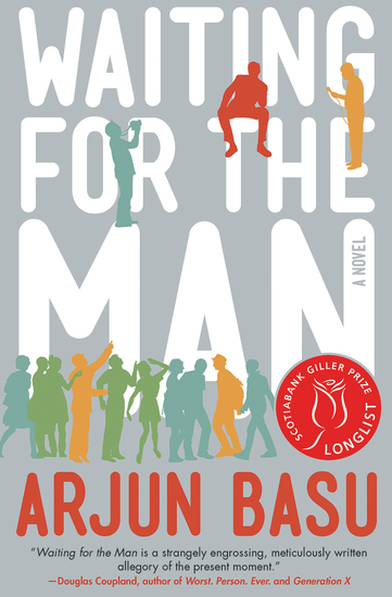 Waiting for the Man - A Novel - cover
