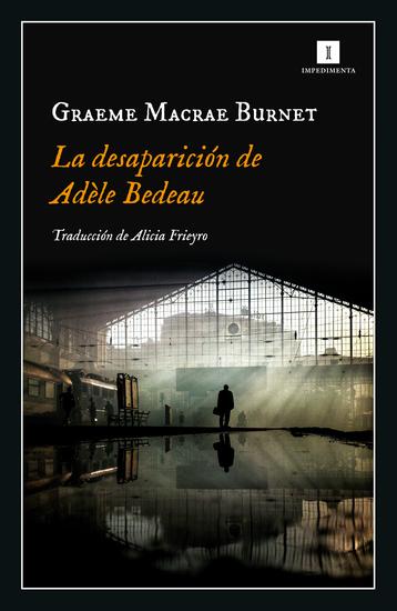 La desaparición de Adèle Bedeau - cover