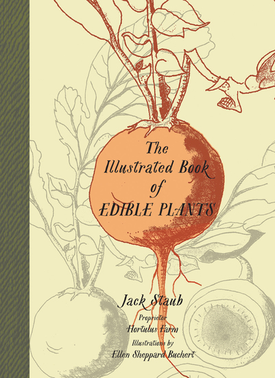 The Illustrated Book of Edible Plants - cover