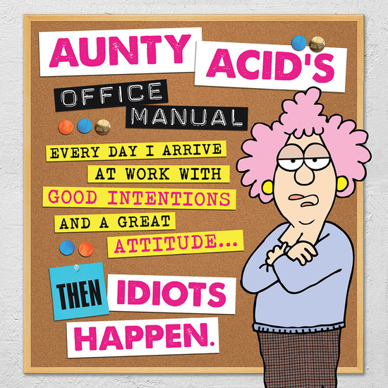 Aunty Acid's Office Manual - cover