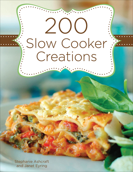 200 Slow Cooker Creations - cover