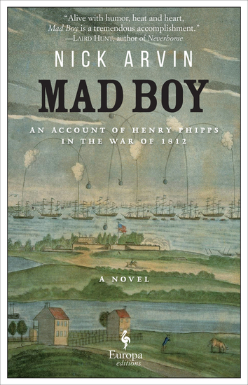 Mad Boy - An Account of Henry Phipps in the War of 1812 - cover