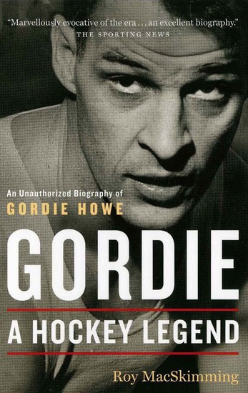 Gordie - A Hockey Legend - cover