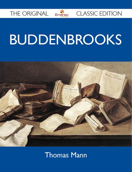 Buddenbrooks - The Original Classic Edition - cover