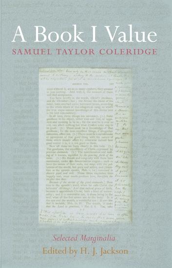 A Book I Value - Selected Marginalia - cover